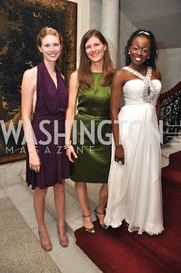 Anne Dutton, Jennifer Graham, Shamere Mckenzie Capital City Ball, Washington Club, November 19, photos by Ben Droz