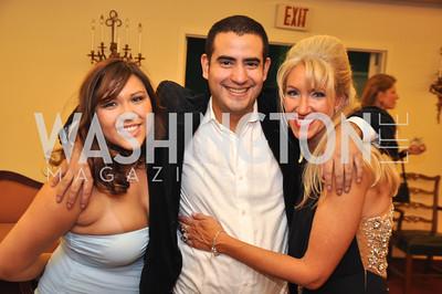 Quin Woodward Pu, Alfredo Flores, Tanya Lynn Sabel Capital City Ball, Washington Club, November 19, photos by Ben Droz