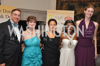Keith Kennedy, Sally Kennedy Cecelia Gorgian, Shamere Mckenzie Anne Dutton Capital City Ball, Washington Club, November 19, photos by Ben Droz