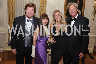 Jim Doan, Deborrah Lindsay, Tracy Laslo, Jeff Linney Capital City Ball, Washington Club, November 19, photos by Ben Droz