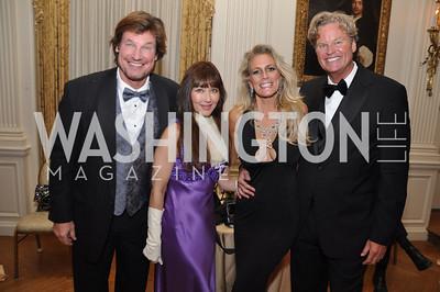 Jim Doan, Deborrah Lindsay, Tracy Laslo, Jeff Linney Capital City Ball, Washington Club, November 19, photos by Ben Droz