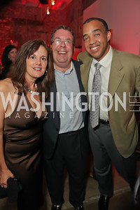 Michelle McCann, Phil Deutch, Darren Thompson. Capital For Children Casino Night 2011. Long View Gallery. October 1, 2011. Photo by Alfredo Flores