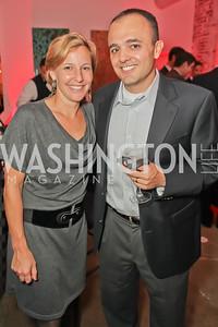 Nancy Smith, Ryan Smith. Capital For Children Casino Night 2011. Long View Gallery. October 1, 2011.JPG
