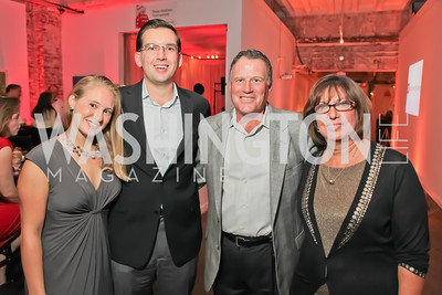 Heather Kahan, Daniel Kahan, Mark Wishner, Laurie Wishner. Capital For Children Casino Night 2011. Long View Gallery. October 1, 2011. Photo by Alfredo Flores