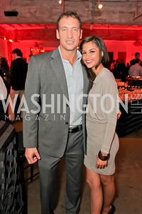 Joseph Michalczyk, Fabiana Talbot. Capital For Children Casino Night 2011. Long View Gallery. October 1, 2011. Photo by Alfredo Flores