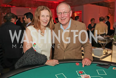 Bob Van Eigen, Amy Van Eigen. Capital For Children Casino Night 2011. Long View Gallery. October 1, 2011.JPG