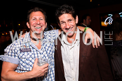 Jay Greenstein, David Weisbaum. Photo by Tony Powell. CMP Kennedy Center Gala After Party. Cities. May 14, 2011
