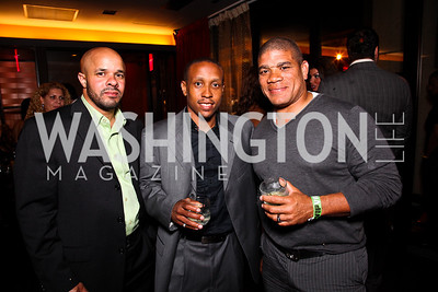 Donald Jones, Anwar Pleasants, Harvey Yancey. Photo by Tony Powell. CMP Kennedy Center Gala After Party. Cities. May 14, 2011