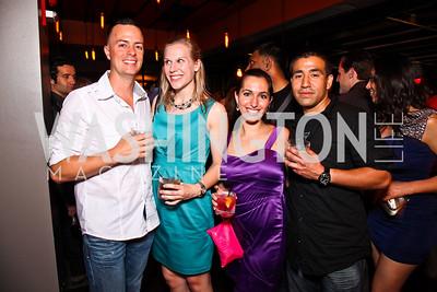 Dax Battaglia, Ashley Brune, Gina Consumano, Will Maldonado. Photo by Tony Powell. CMP Kennedy Center Gala After Party. Cities. May 14, 2011