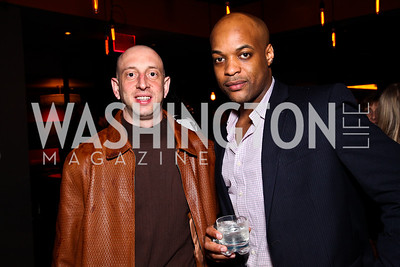 Richard Mallon, Damien Gross. Photo by Tony Powell. CMP Kennedy Center Gala After Party. Cities. May 14, 2011