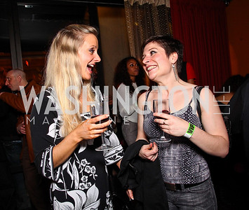 Brianne Ritzert, Jeannie Biniek. Photo by Tony Powell. CMP Kennedy Center Gala After Party. Cities. May 14, 2011