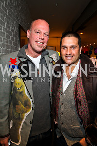 Freddie Wyatt, Chris Tavlarides. CMI Winter Fundraiser. Photo by Tony Powell. Dirty Martini. January 13, 2011