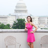 Elizabeth Pentinon. Hearts Delight hosts a Wine auction on the Capitol Rooftop at 101 Constitution Ave