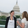 Anna Rojo, volunteer. Hearts Delight hosts a Wine auction on the Capitol Rooftop at 101 Constitution Ave
