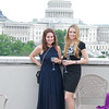 Alexis Levine, Katheryn Downes.  Hearts Delight hosts a Wine auction on the Capitol Rooftop at 101 Constitution Ave