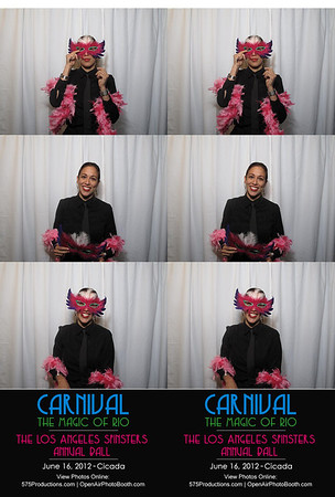 Carnival Photo Booth Strips