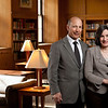 Ani (L) and Mark Gabrellian in Wells Brown Room, Rush Rhees Library March 27, 2012.  // photo by J. Adam Fenster / University of Rochester