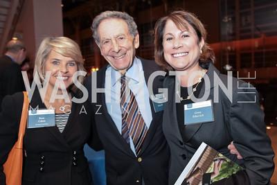 Rose Cohen, Irwin Edlavitch, Ginny Edlavitch. Catalogue for Philanthropy: Greater Washington, Inspiration to Action 2011. Sidney Harman Hall. November 7, 2011. Photo by Alfredo Flores