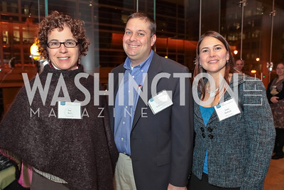 Sue Bell, Scott Schenkelberg, Anne Bertsch. Catalogue for Philanthropy: Greater Washington, Inspiration to Action 2011. Sidney Harman Hall. November 7, 2011. Photo by Alfredo Flores