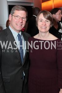 Matt Korn, Cindy Miller. Catalogue for Philanthropy: Greater Washington, Inspiration to Action 2011. Sidney Harman Hall. November 7, 2011. Photo by Alfredo Flores