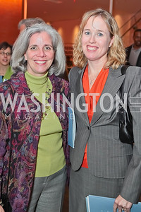Kathy Jankowski, Mary Beth Romani. Catalogue for Philanthropy: Greater Washington, Inspiration to Action 2011. Sidney Harman Hall. November 7, 2011. Photo by Alfredo Flores
