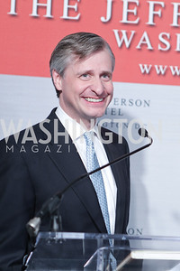 "Jon Meacham. Photo by Alfredo Flores. Celebrate Chris Licht, MSNBC's ""Morning Joe"" Executive Producer. The Jefferson Hotel. May 26, 2011"