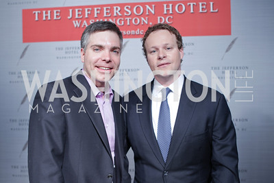 "Matt Lewis, Chris Licht. Photo by Alfredo Flores. Celebrate Chris Licht, MSNBC's ""Morning Joe"" Executive Producer. The Jefferson Hotel"