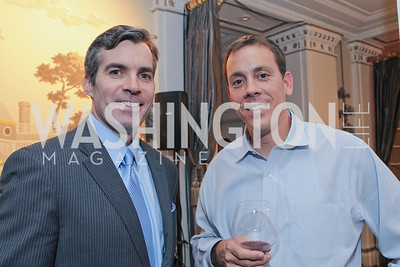 "Jim Vandettei, Kevin Madden. Photo by Alfredo Flores. Celebrate Chris Licht, MSNBC's ""Morning Joe"" Executive Producer. The Jefferson Hotel"