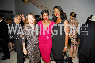 Rachel Goslins, Nicole Bernard, Michelle Bernard, Celebration Hosted by Louis Vuitton for 2011 NAHYP Awards, November 1, 2011, Kyle Samperton