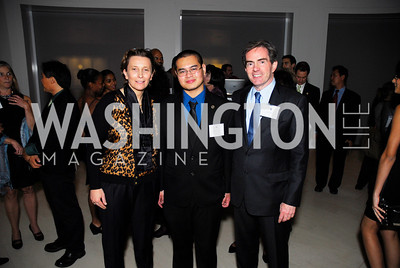 Valerie Chapoulard, Robert Sandoval, James Basker, Celebration Hosted by Louis Vuitton for 2011 NAHYP Awards, November 1, 2011, Kyle Samperton