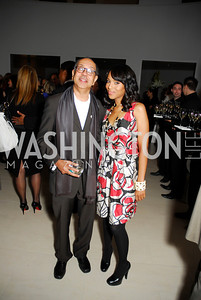 George Wolf, Kerry Washington, Celebration Hosted by Louis Vuitton for 2011 NAHYP Awards, November 1, 2011, Kyle Samperton