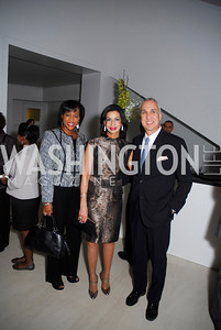 Janelle Duncan, Moshira Soliman, Les Deak, Celebration Hosted by Louis Vuitton for 2011 NAHYP Awards, November 1, 2011, Kyle Samperton