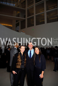Valerie Chapoulard, Eric Lichtness, Sandra Santiago, Celebration Hosted by Louis Vuitton for 2011 NAHYP Awards, November 1, 2011, Kyle Samperton