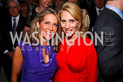 Jessica Yellin, Dana Bash. Photo by Tony Powell. Celebration of the Royal Wedding. Residence of the English Ambassador. April 29, 2011