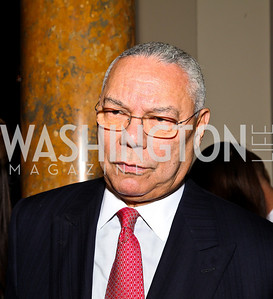 General Colin Powell. Photo by Tony Powell. Celebration of the Royal Wedding. Residence of the English Ambassador. April 29, 2011