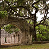 Abandoned chapel and cemetery, St. Helena Island, SC