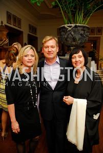 Lynn McFadden, Mark McFadden, Pamela Hanson, Charity Works 100 Point Wine Tasting, May 14, 2011, Kyle Samperton