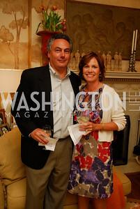 Tony Moraco, Cathy Blaner, Charity Works 100 Point Wine Tasting, May 14, 2011, Kyle Samperton