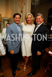 Joe Ruzzo, Cynthia Vance, Mark Lowham, Charity Works 100 Point Wine Tasting, May 14, 2011, Kyle Samperton