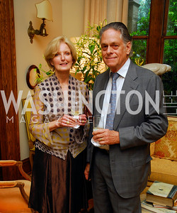 Cecile Warnock, Tom Warnock, Charity Works 100 Point Wine Tasting, May 14, 2011, Kyle Samperton