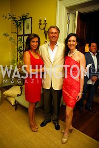 Sandrine Ennis, Ken McLendon, Elizabeth Bizic, Charity Works 100 Point Wine Tasting, May 14, 2011, Kyle Samperton
