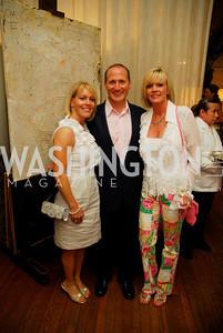 Angie Pagnato, Paul Pagnato, Lisa Pearmund, Charity Works 100 Point Wine Tasting, May 14, 2011, Kyle Samperton