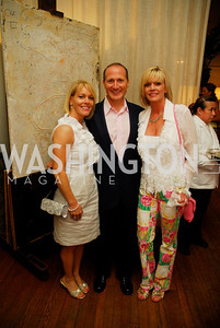Angie Pagnato, Paul Pagnato, Lisa Pearmund, Charity Works 100 Point Wine Tasting, May 14, 2011, Kyle Samperton