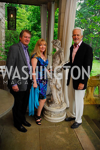 Marty Standiford, Lisa Standiford, Jack Davies, Charity Works 100 Point Wine Tasting, May 14, 2011, Kyle Samperton