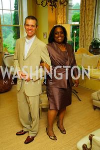 Matthew Wheelock, Michelle Edwards, Charity Works 100 Point Wine Tasting, May 14, 2011, Kyle Samperton