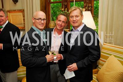 Michael Violante, Paul Rochford, Mark McFadden, Charity Works 100 Point Wine Tasting, May 14, 2011, Kyle Samperton