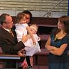 Child dedication, David Palmer, Sarah, Sulek, Scott Sulek