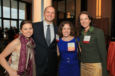 Alix Eggerding, Matt Eggerding, Jennifer Brough, B.A. Spignardo. Children's Law Center 15th Anniversary Helping Children Soar Benefit. Kennedy Center. September 21, 2011. Photo by Alfredo Flores