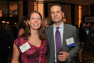 Amanda Farber, Evan Farber. Children's Law Center 15th Anniversary Helping Children Soar Benefit. Kennedy Center. September 21, 2011.JPG