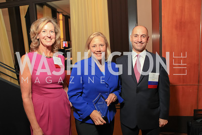 Joe Figini, Sen. Mary Landrieu, Tina Nicolaides Kearnes. Children's Law Center 15th Anniversary Helping Children Soar Benefit. Kennedy Center-2